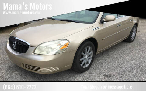 2006 Buick Lucerne for sale at Mama's Motors in Greer SC