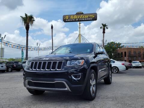 2014 Jeep Grand Cherokee for sale at A MOTORS SALES AND FINANCE - 10110 West Loop 1604 N in San Antonio TX