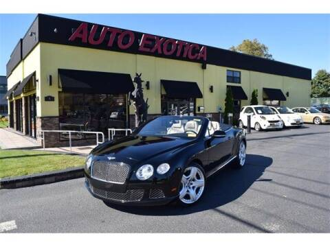 2012 Bentley Continental for sale at Auto Exotica in Red Bank NJ