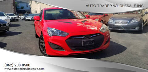 2013 Hyundai Genesis Coupe for sale at Auto Trader Wholesale Inc in Saddle Brook NJ