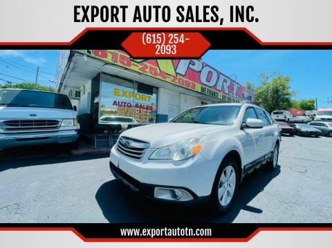 2010 Subaru Outback for sale at EXPORT AUTO SALES, INC. in Nashville TN