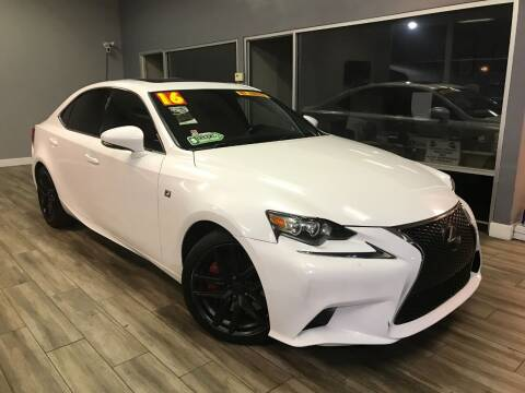 2016 Lexus IS 200t for sale at Golden State Auto Inc. in Rancho Cordova CA