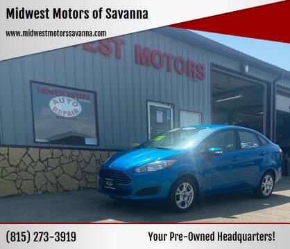 2016 Ford Fiesta for sale at Midwest Motors of Savanna in Savanna IL