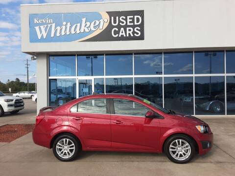 2016 Chevrolet Sonic for sale at Kevin Whitaker Used Cars in Travelers Rest SC
