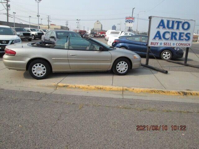 2004 Chrysler Sebring for sale at Auto Acres in Billings MT