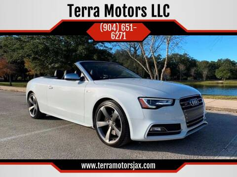 2014 Audi S5 for sale at Terra Motors LLC in Jacksonville FL