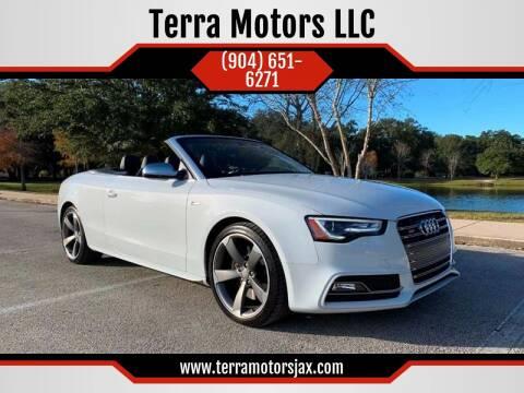 2014 Audi S5 for sale at Terra Motors LLC in Jacksonville FL