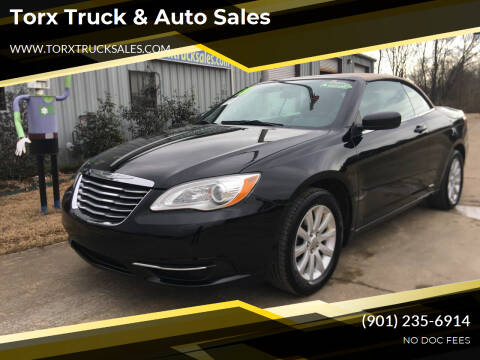 2013 Chrysler 200 Convertible for sale at Torx Truck & Auto Sales in Eads TN