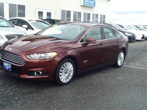 2016 Ford Fusion Energi for sale at Garys Sales & SVC in Caribou ME