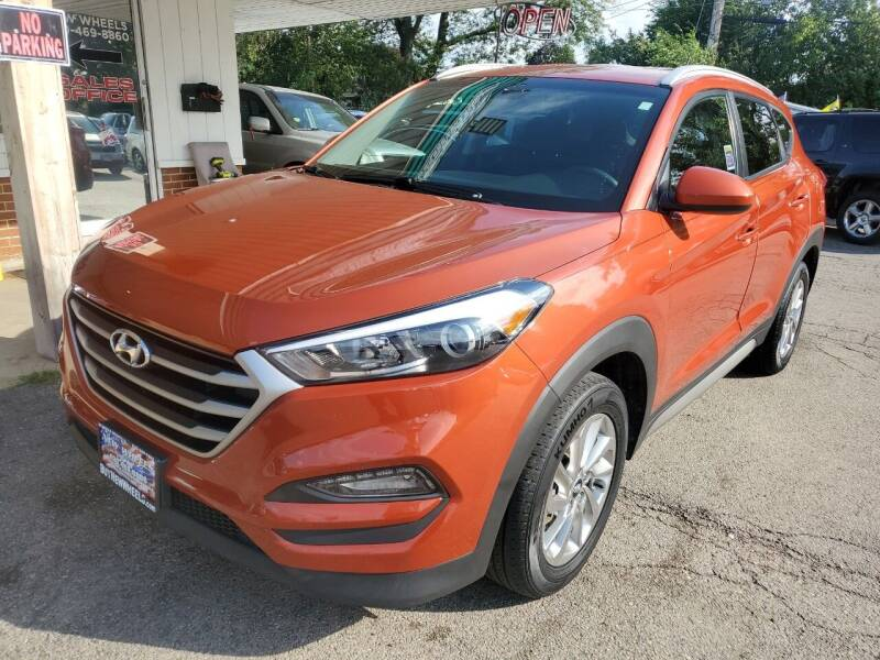 2017 Hyundai Tucson for sale at New Wheels in Glendale Heights IL