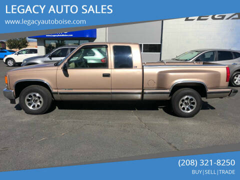 1996 GMC Sierra 1500 for sale at LEGACY AUTO SALES in Boise ID