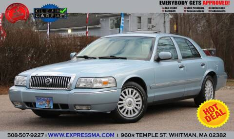 2008 Mercury Grand Marquis for sale at Auto Sales Express in Whitman MA