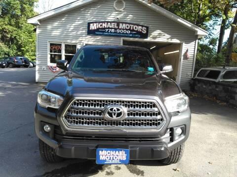 2017 Toyota Tacoma for sale at MICHAEL MOTORS in Farmington ME