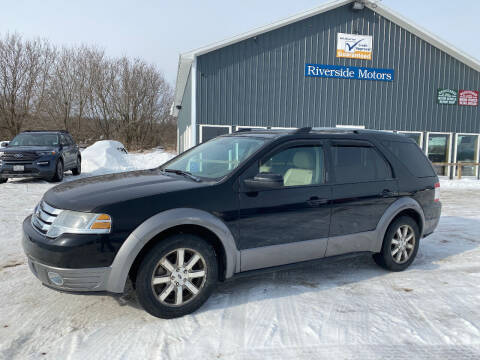 2008 Ford Taurus X for sale at Riverside Motors in Glenfield NY