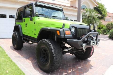 2003 Jeep Wrangler for sale at Newport Motor Cars llc in Costa Mesa CA