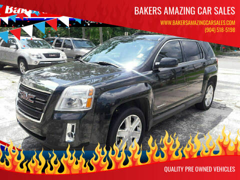 2011 GMC Terrain for sale at Bakers Amazing Car Sales in Jacksonville FL