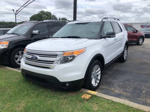 2015 Ford Explorer for sale at Greg's Auto Sales in Poplar Bluff MO