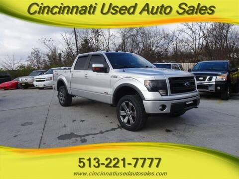 2014 Ford F-150 for sale at Cincinnati Used Auto Sales in Cincinnati OH