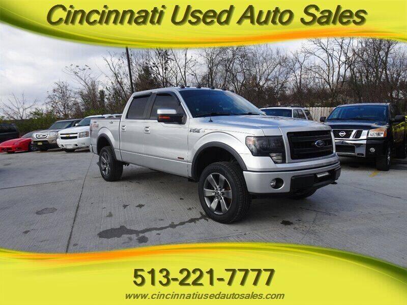 2014 Ford F-150 for sale at Cincinnati Used Auto Sales in Cincinnati OH