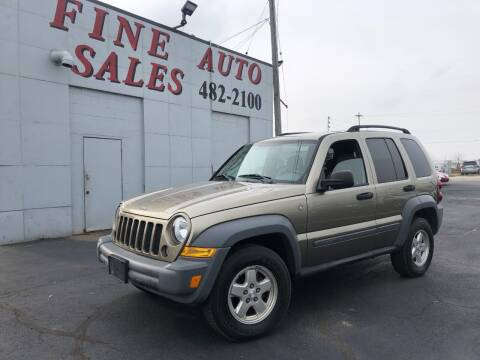2005 Jeep Liberty for sale at Fine Auto Sales in Cudahy WI