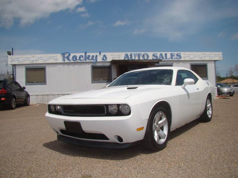 2012 Dodge Challenger for sale at Rocky's Auto Sales in Corpus Christi TX