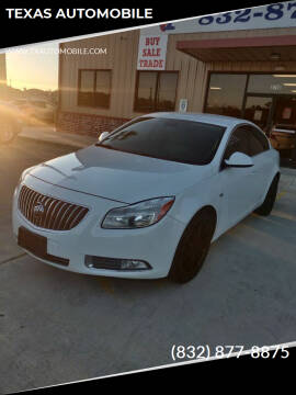 2011 Buick Regal for sale at TEXAS AUTOMOBILE in Houston TX