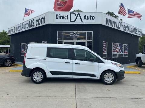 2016 Ford Transit Connect Cargo for sale at Direct Auto in D'Iberville MS