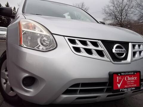 2012 Nissan Rogue for sale at 1st Choice Auto Sales in Fairfax VA