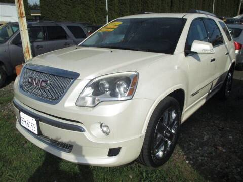 2011 GMC Acadia for sale at GMA Of Everett in Everett WA