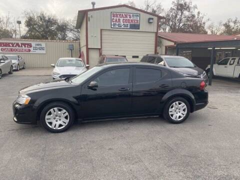 2014 Dodge Avenger for sale at Bryans Car Corner in Chickasha OK