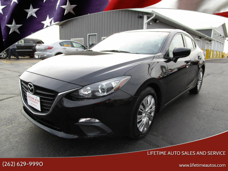 2015 Mazda MAZDA3 for sale at Lifetime Auto Sales and Service in West Bend WI