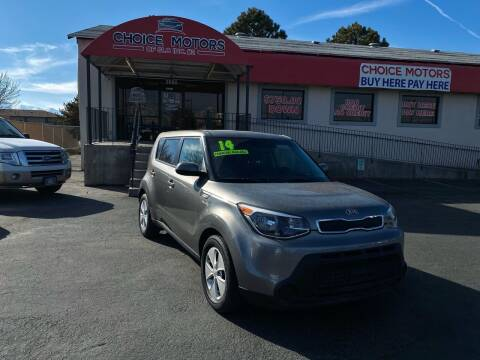 2014 Kia Soul for sale at Choice Motors of Salt Lake City in West Valley  City UT