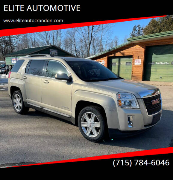 2012 GMC Terrain for sale at ELITE AUTOMOTIVE in Crandon WI