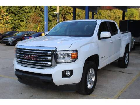 2018 GMC Canyon for sale at Inline Auto Sales in Fuquay Varina NC