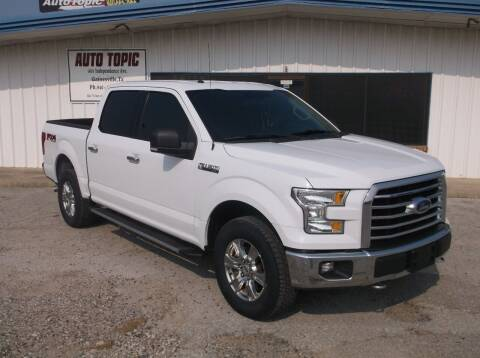 2015 Ford F-150 for sale at AUTO TOPIC in Gainesville TX