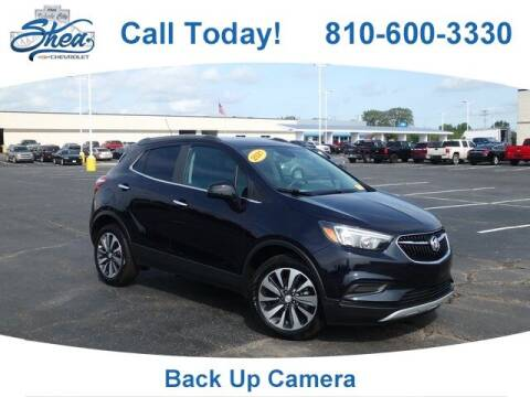 2021 Buick Encore for sale at Erick's Used Car Factory in Flint MI
