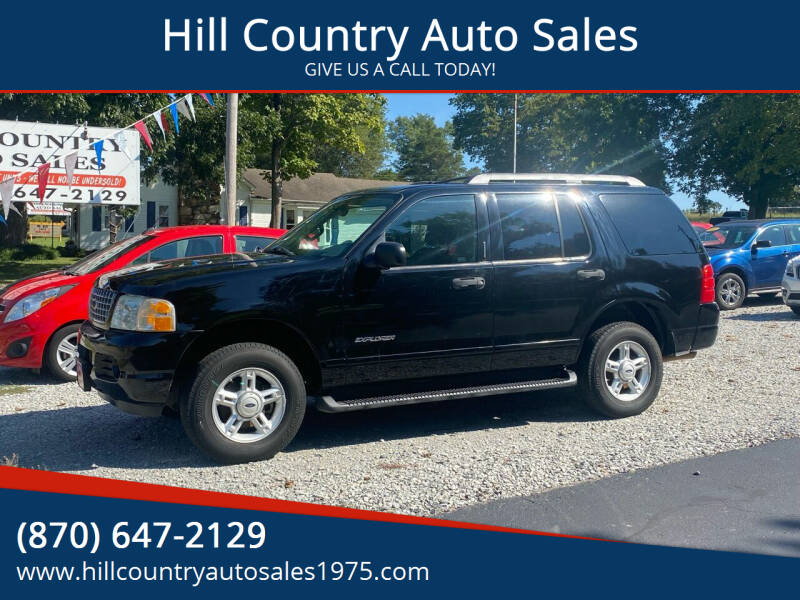 2005 Ford Explorer for sale at Hill Country Auto Sales in Maynard AR