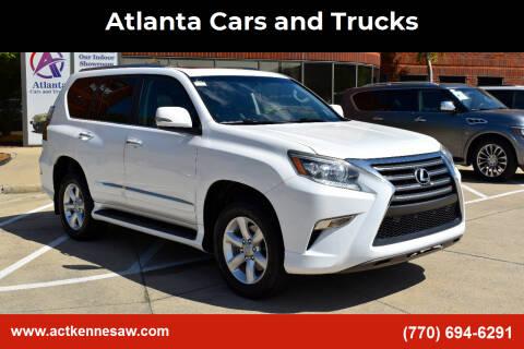 2014 Lexus GX 460 for sale at Atlanta Cars and Trucks in Kennesaw GA