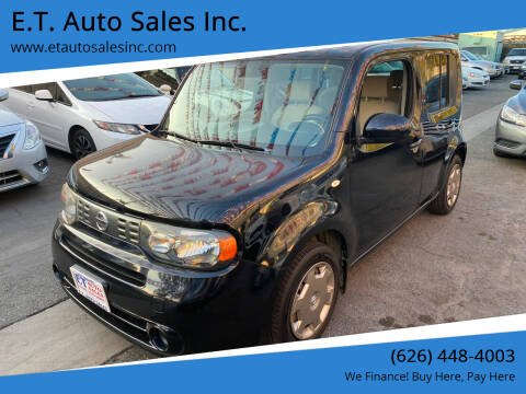2014 Nissan cube for sale at E.T. Auto Sales Inc. in El Monte CA