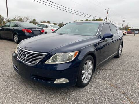 2007 Lexus LS 460 for sale at Signal Imports INC in Spartanburg SC
