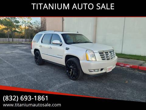 2007 Cadillac Escalade for sale at TITANIUM AUTO SALE in Houston TX