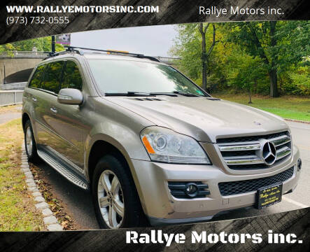 2008 Mercedes-Benz GL-Class for sale at Rallye  Motors inc. in Newark NJ