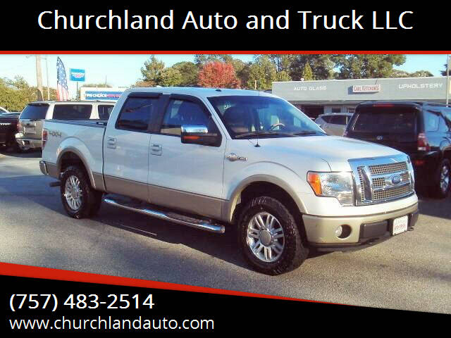2010 Ford F-150 for sale at Churchland Auto and Truck LLC in Portsmouth VA