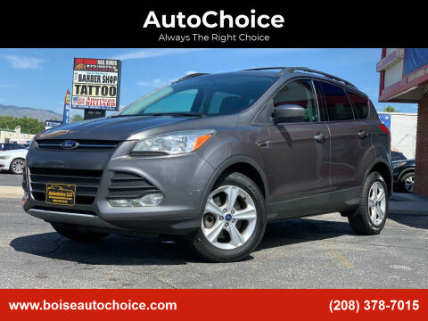 2013 Ford Escape for sale at AutoChoice in Boise ID