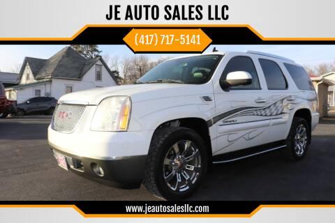 2007 GMC Yukon for sale at JE AUTO SALES LLC in Webb City MO