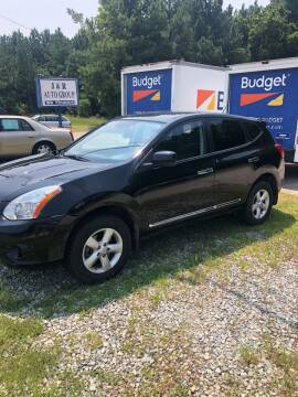 2013 Nissan Rogue for sale at J & R Auto Group in Durham NC
