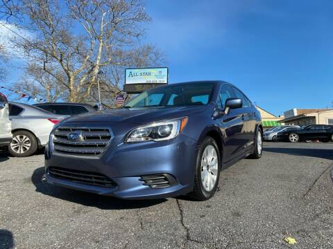 2015 Subaru Legacy for sale at All Star Auto Sales and Service LLC in Allentown PA