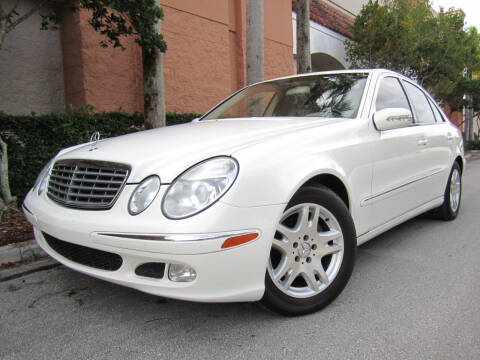 2005 Mercedes-Benz E-Class for sale at FLORIDACARSTOGO in West Palm Beach FL