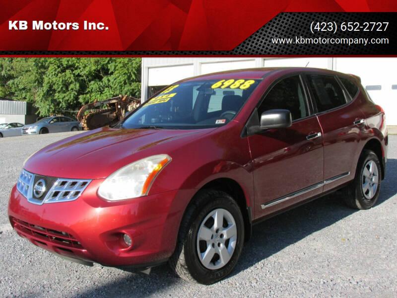 2013 Nissan Rogue for sale at KB Motors Inc. in Bristol VA