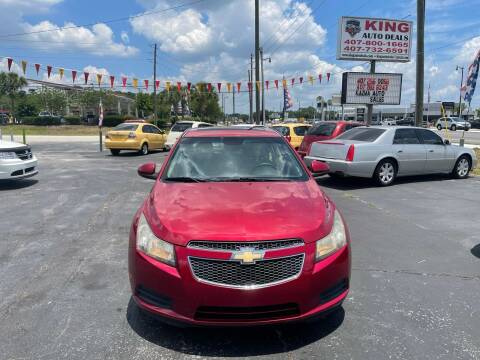2011 Chevrolet Cruze for sale at King Auto Deals in Longwood FL